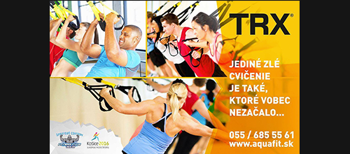 TRX – Kruhový tréning (High intensity TRX)