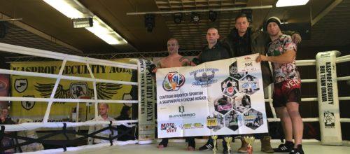 V Raslaviciach sa konalo druhé kolo Kasprof security ligy v MMA